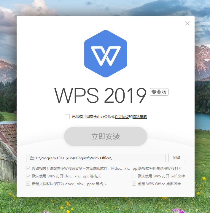 WPS Office 2019 Professional 中文企业版